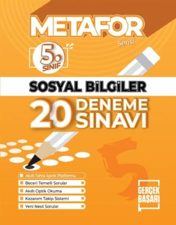 METAFOR T.C. SOSYAL BİLGİLER DENEME SINAVI