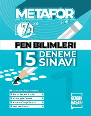METAFOR FEN BİLİMLERİ DENEME SINAVI