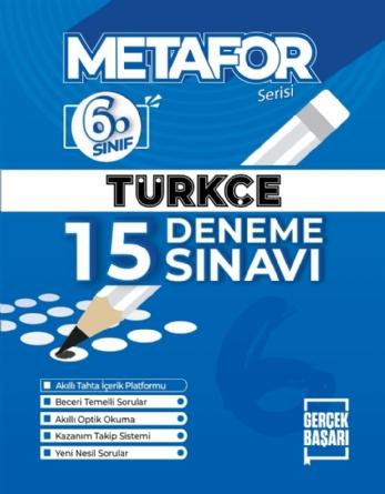 METAFOR TÜRKÇE DENEME SINAVI
